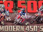 CR500 vs 450 4 Stroke's in EPIC Mud Race Championship Finale   For the Love of 2 Strokes
