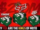 Why FOX are the KINGS of Moto   The $200 Million Dirt Bike Super-Brand