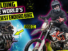 Building The World's CRAZIEST Enduro Bike!