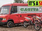 First ride on a Cagiva 500 cc 2 Stroke BEAST ! | 2 Stroke Motocross