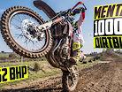Riding a CRAZY 1000cc Dirt Bike on a Motocross Track!