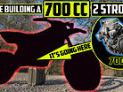 We're Building a 700cc TWO STROKE Dirt Bike! | Project 700 EP1 | The Monster Hunt