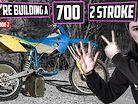 INSANE 700cc 2 Stroke Dirt Bike Build! | Project 700 EP2
