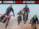 Rubbing, Scrubbing & Racing 40-Year-Old 2 Strokes!