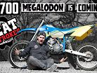 The Ultimate 2 Stroke Dirt Bike | The 700cc Megalodon is Coming! - Project 700 EP4