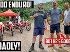 MX Rider vs Adventure Bike Rider | Who wins at Enduro?!