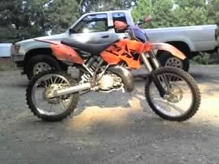 Steve Mac's KTM