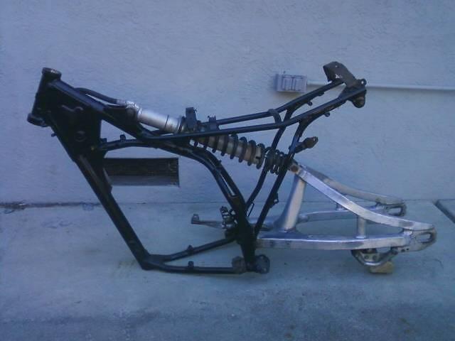 YZ465 Frame and  Swingarm - Mixon848 - Motocross Pictures - Vital MX