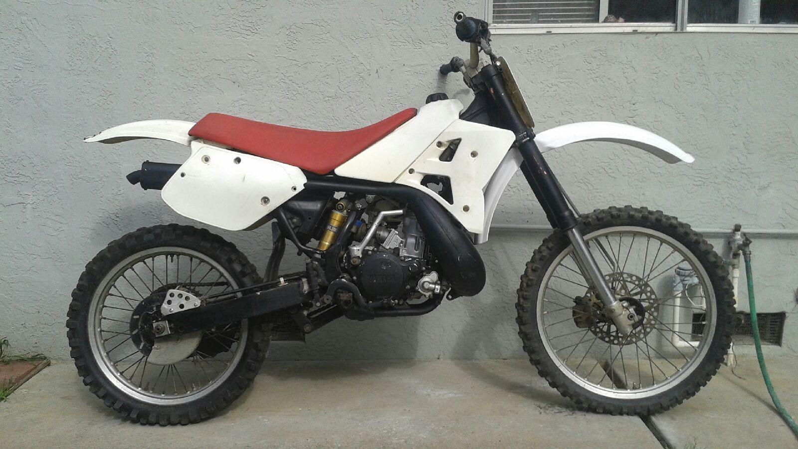 1990 Yamaha YZ360 - Mixon848 - Motocross Pictures - Vital MX