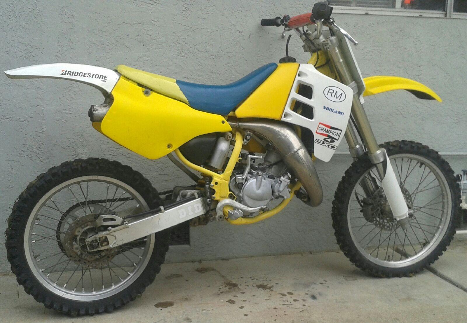 1991 suzuki rm125 progress mixon848 motocross pictures. Black Bedroom Furniture Sets. Home Design Ideas