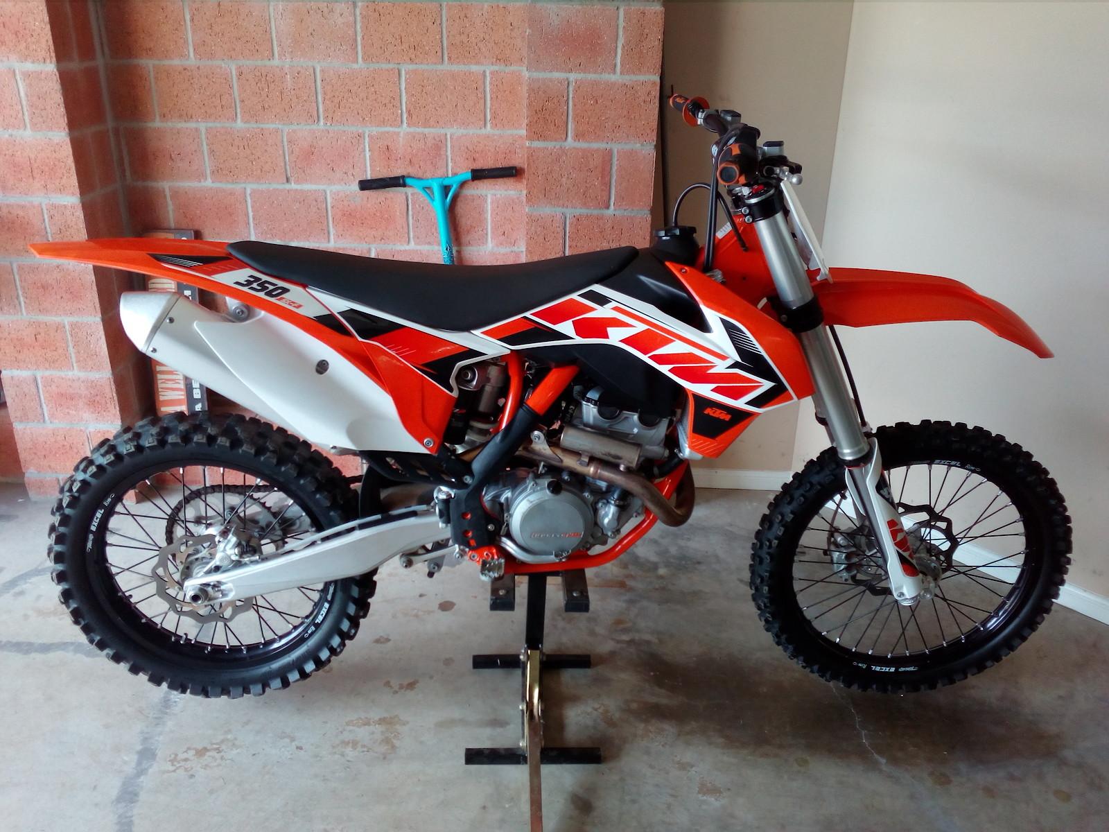 2015 350 SXF