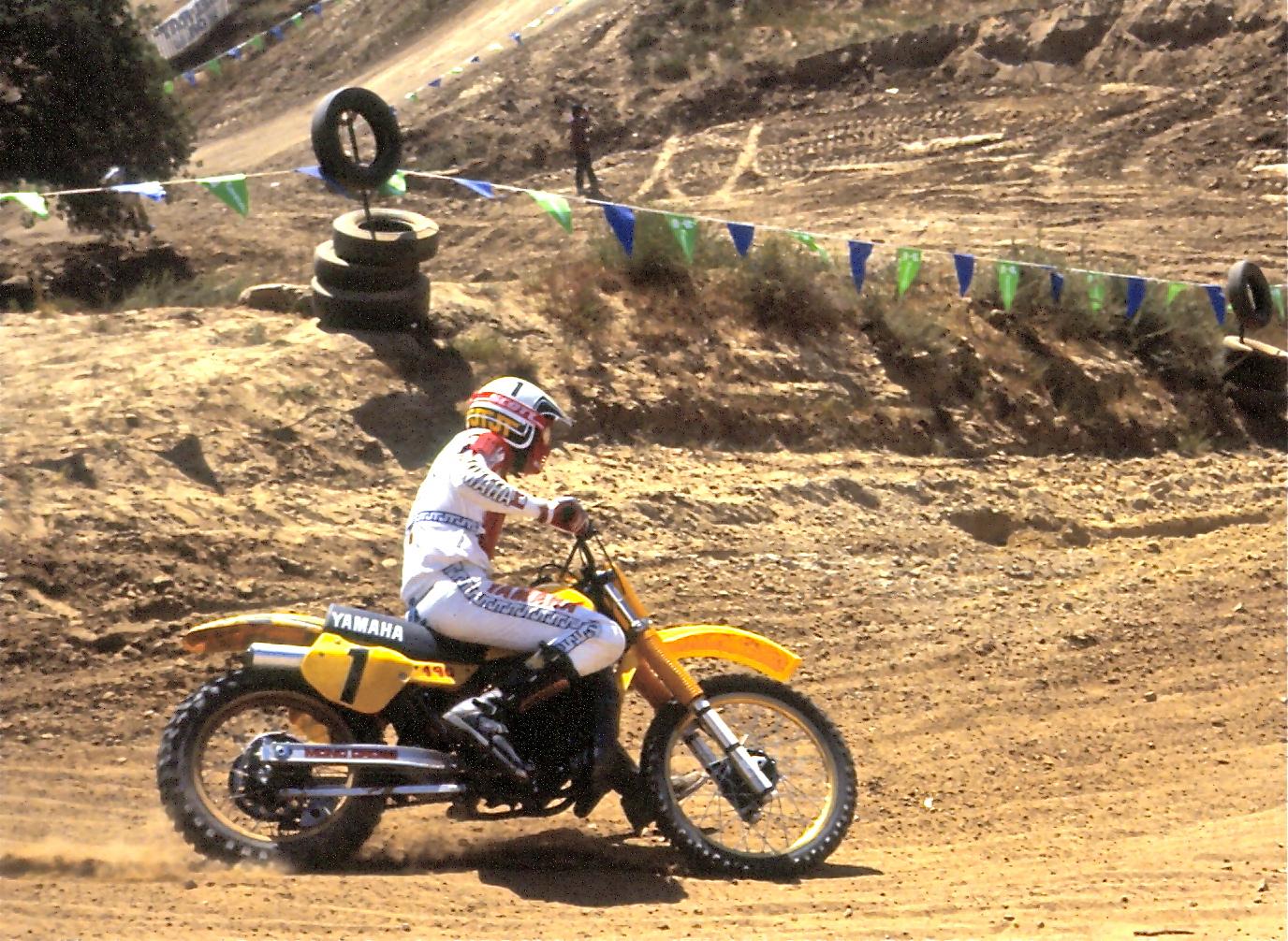 Broc Glover 1984 Saddleback Park 500cc National Xradrd