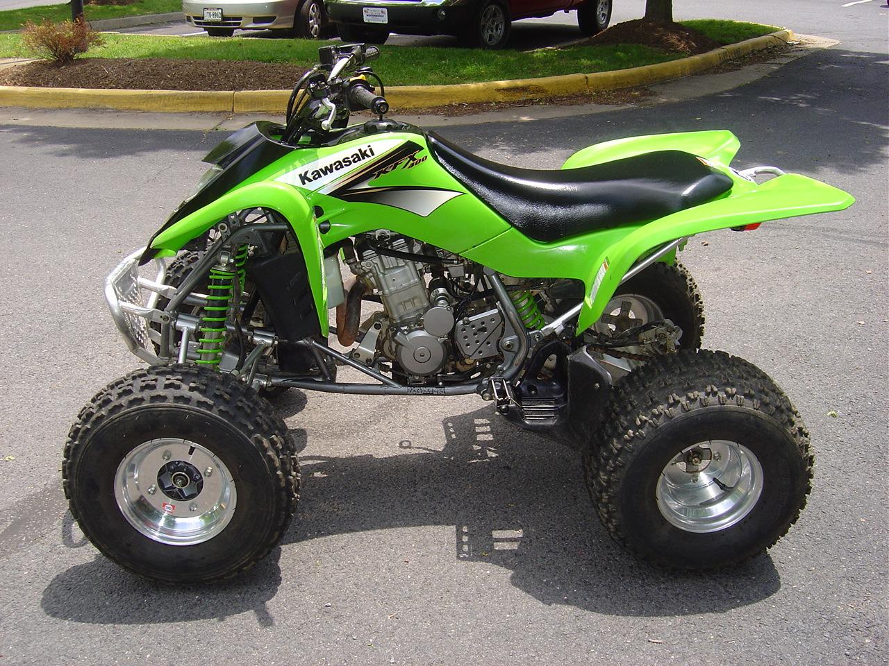 Tblazier S 2004 Kawasaki Kfx400 Tblazier S Bike Check