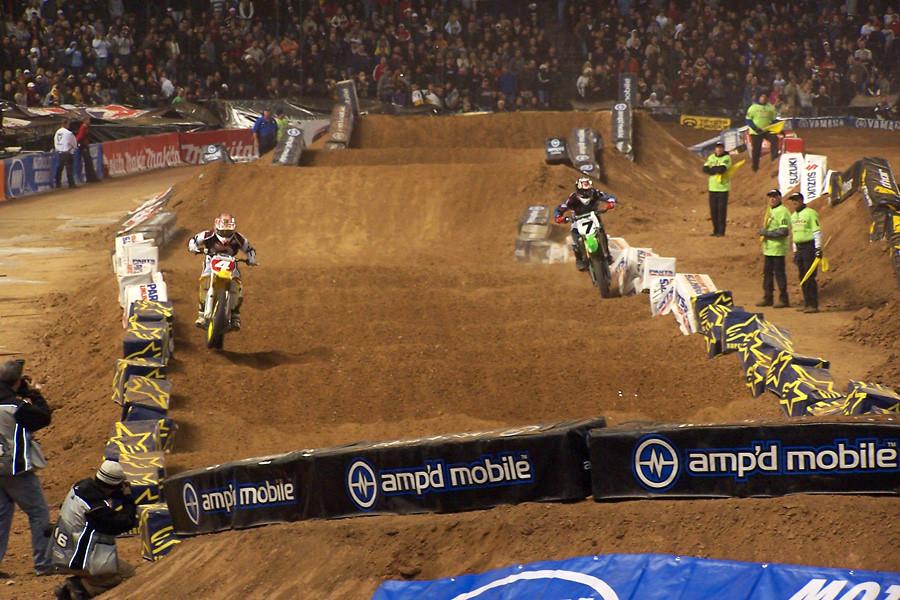 Stewart stalking the GOAT. - AZ450Rider - Motocross Pictures - Vital MX