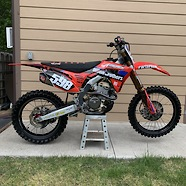 Zane598 2019 CRF250R Race Bike