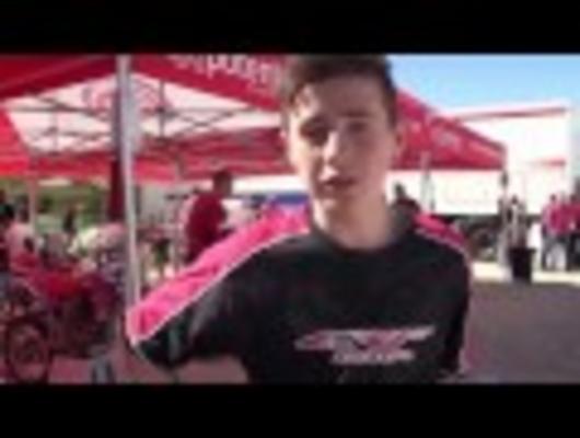 Honda 150 European Championship training camp video in association with FIM Europe
