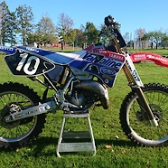 YZ125 97 Team Magic Bike, Bob Moore