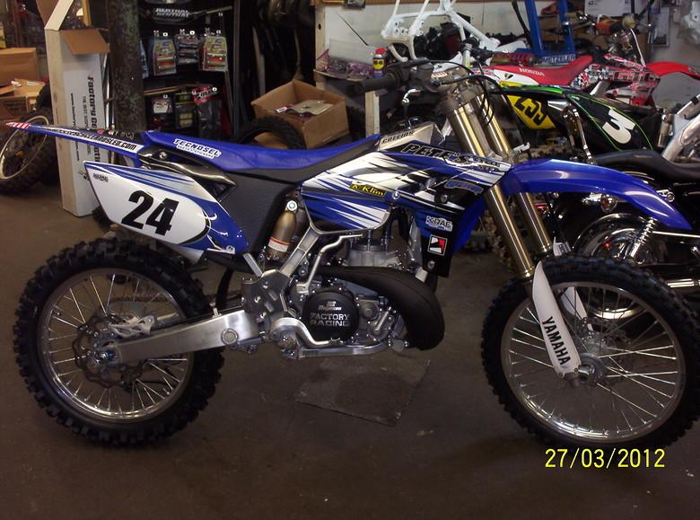 2012 yz250 with vlarr kit
