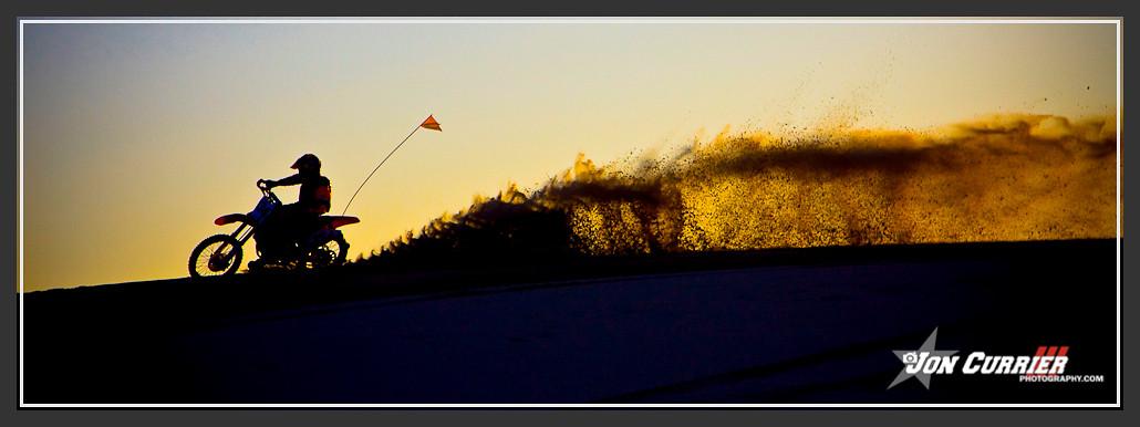 Sandblast Sunset - Jon Currier Photography - Motocross Pictures - Vital MX