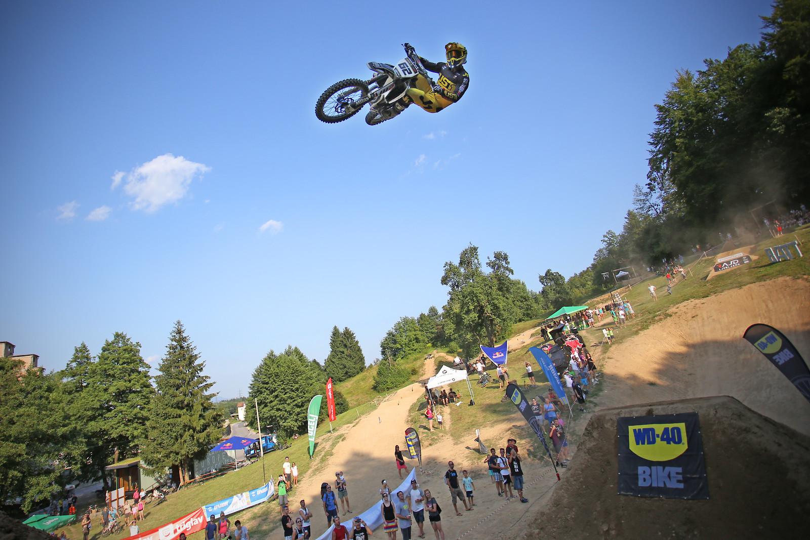 Klemen Gerčar #62 in the air - porson - Motocross Pictures - Vital MX