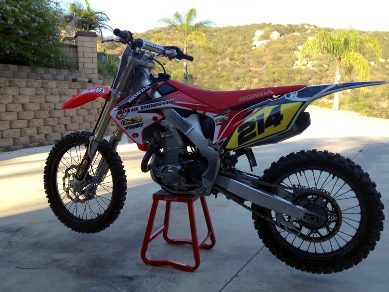 Awhit167's 2009 CRF 450 - Awhit167's Bike Check - Vital MX