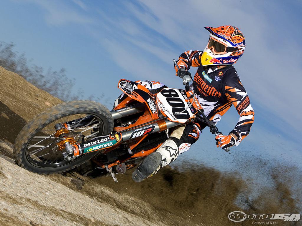 Mike alessi ktm raptor titanium motocross pictures vital mx - Moto cross ktm a colorier ...
