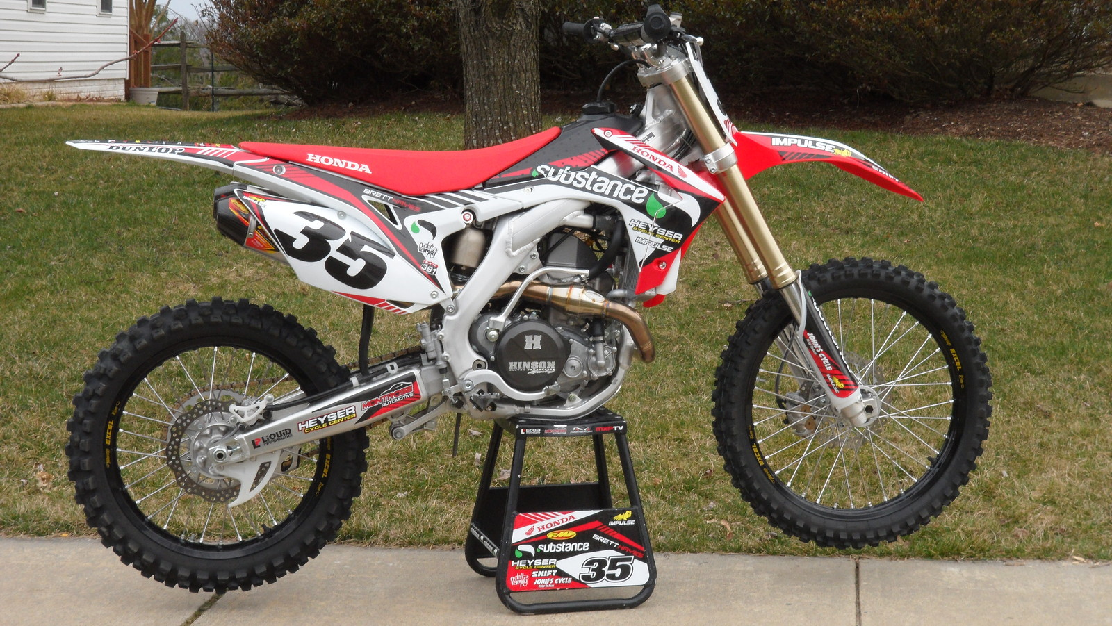 Brett Hayes 2013 CRF 450 Impluse Design Co. Design by B. Hayes