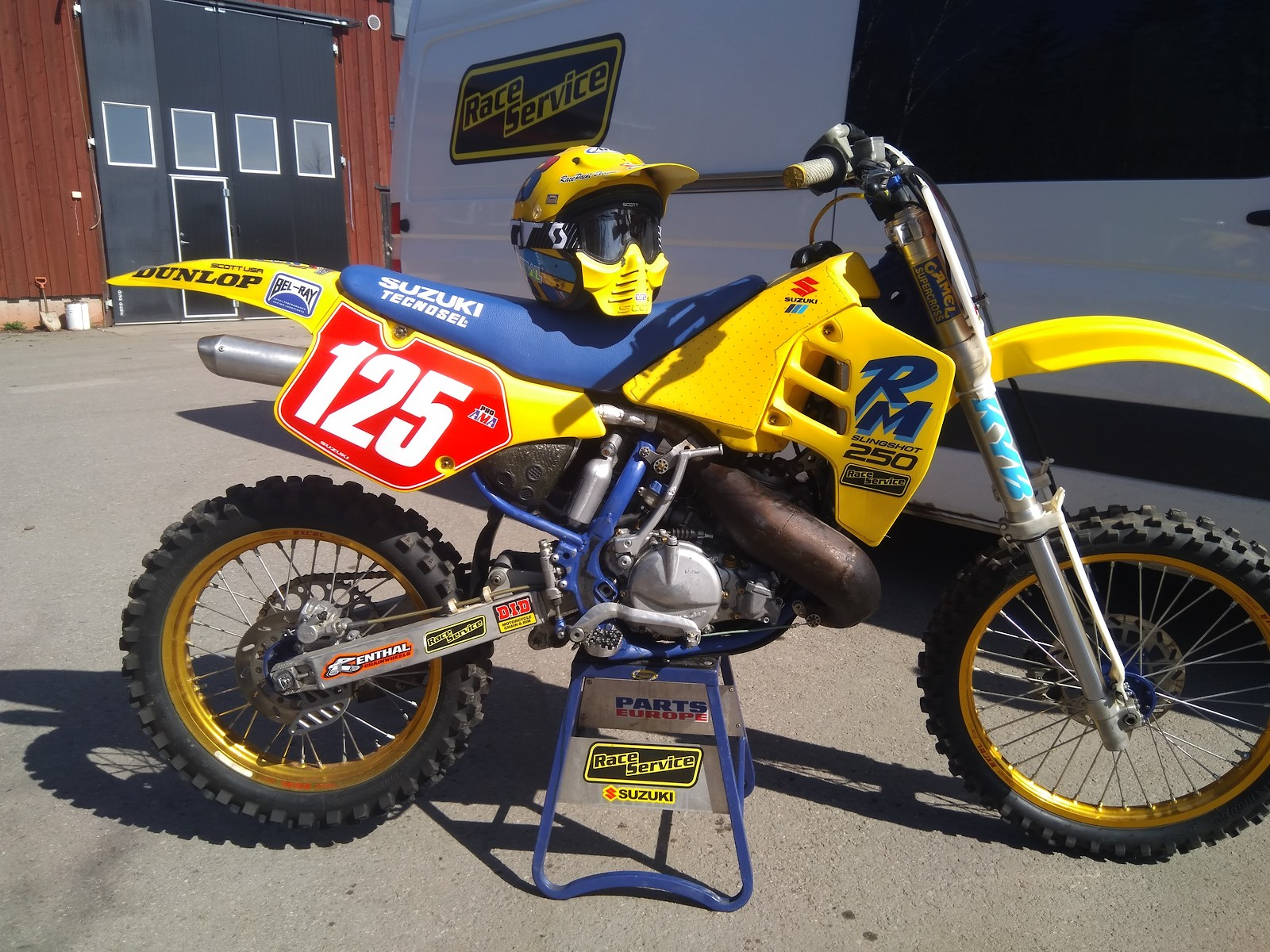 Ready to 2018 Classic motocross cup Finland. Back to 1990 style. New RaceService engine.