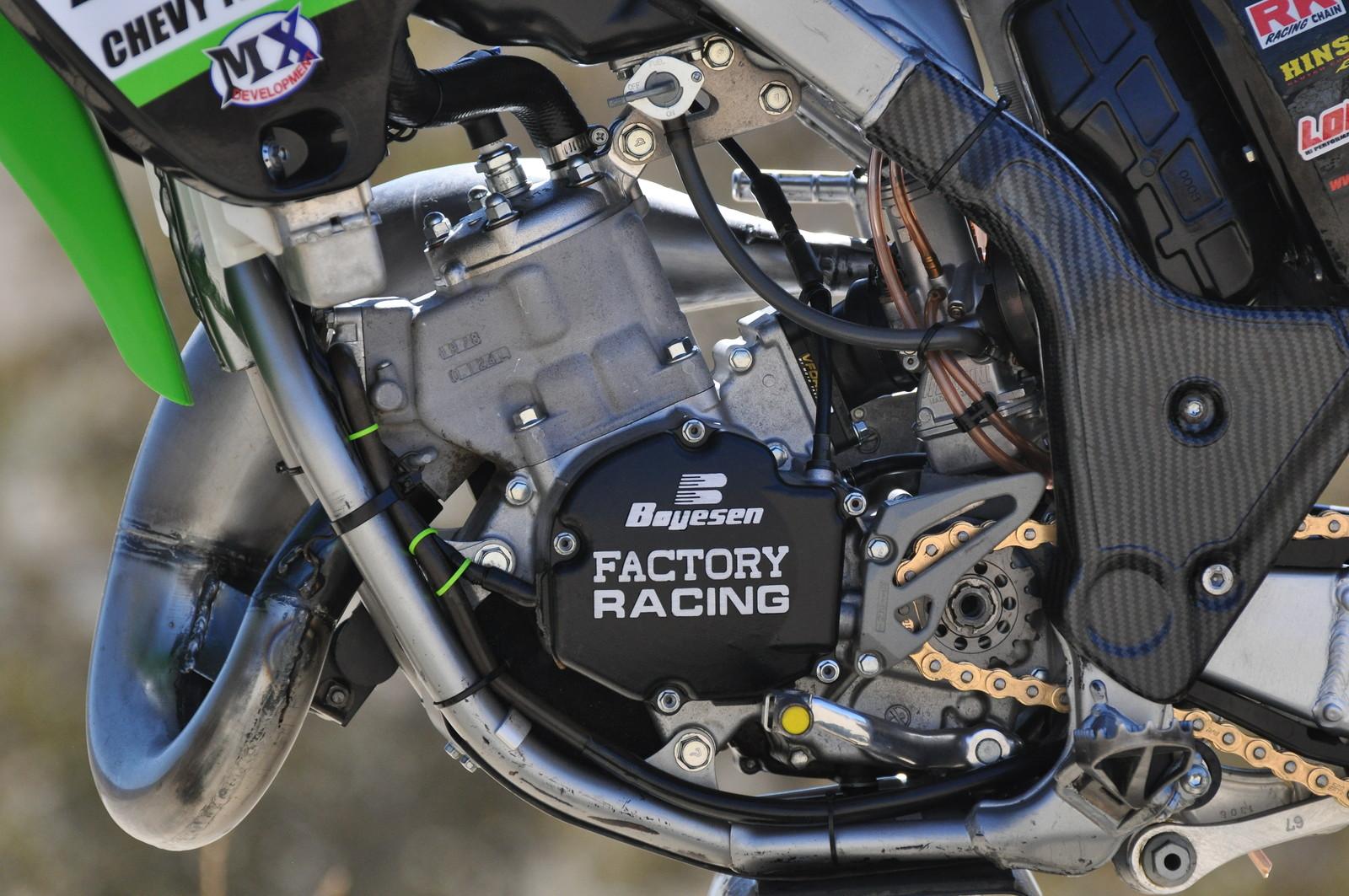kawasaki kx 125 sr - mark chillzone u0026 39 s bike check