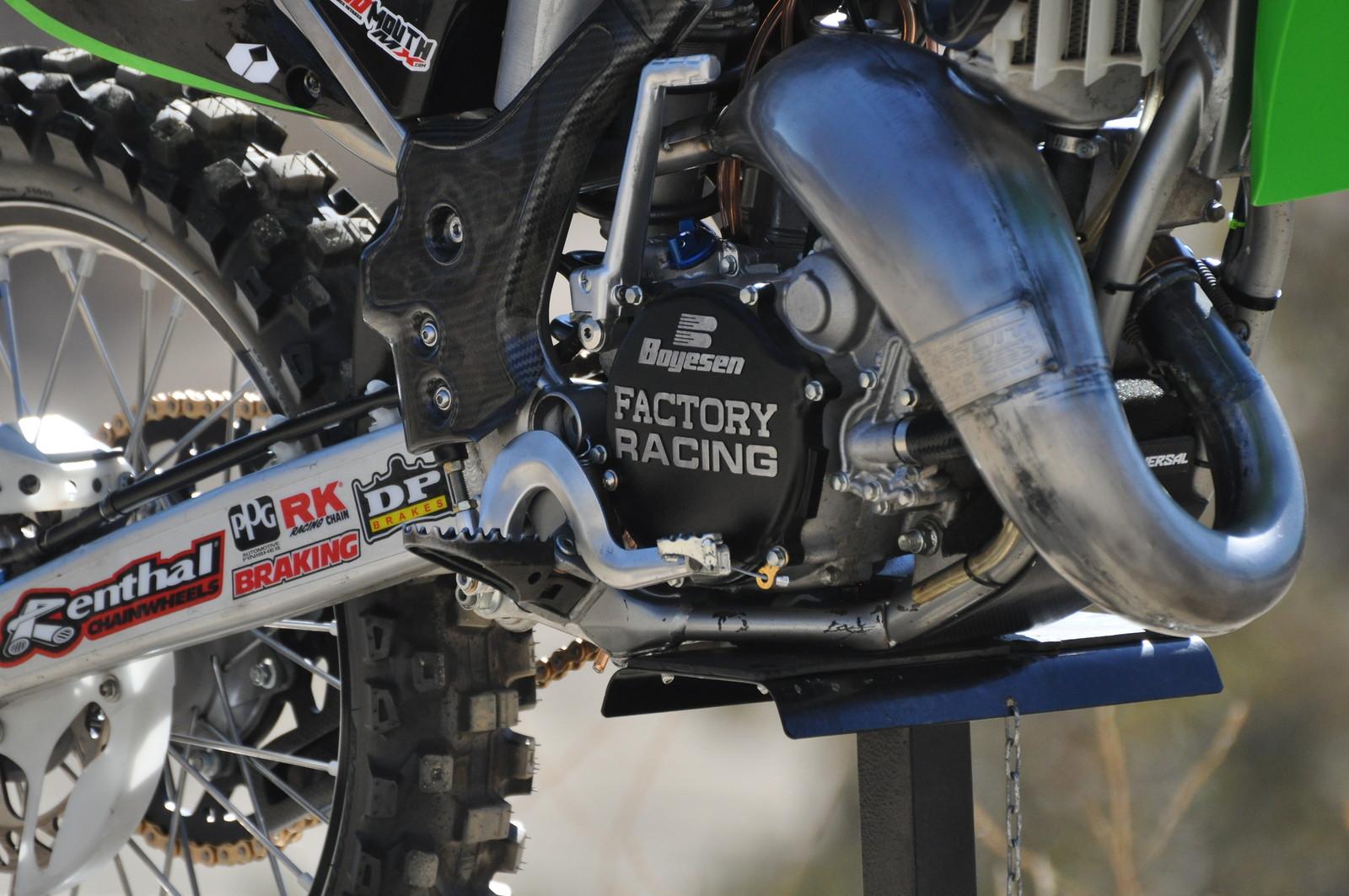 Kawasaki Kx 125 Sr Mark Chillzone S Bike Check Vital Mx