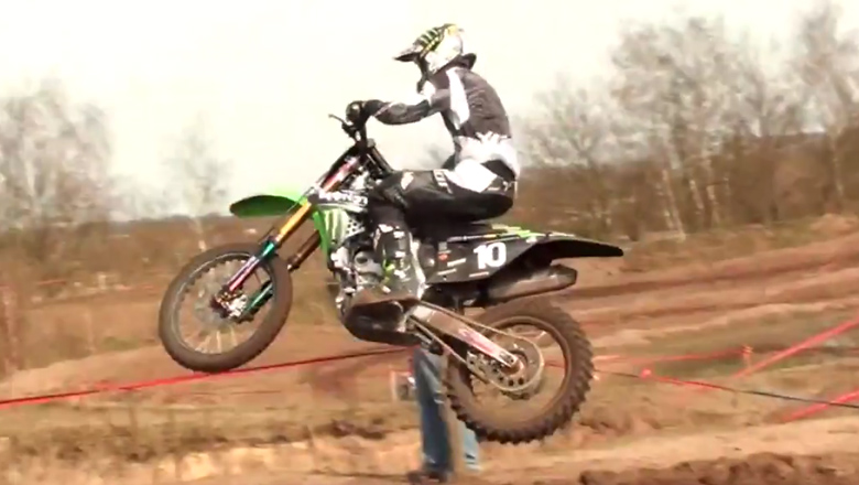 Tommy Searle Preparing For Valkenswaard