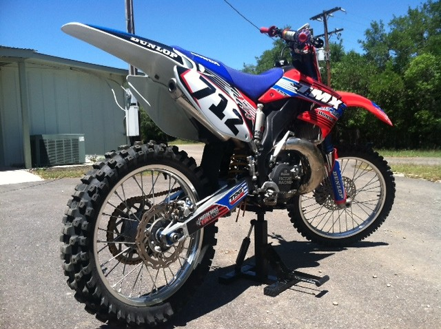 TMX CR250 - 718 - Motocross Pictures - Vital MX