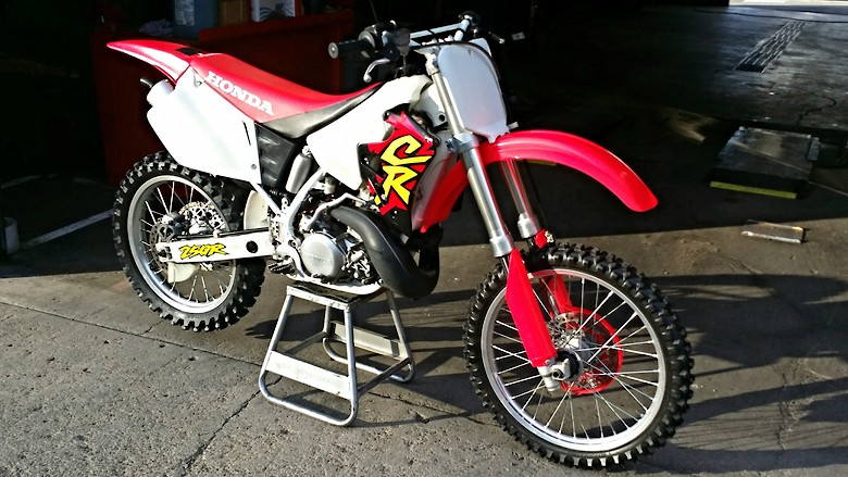 Low hour original 1996 CR250R