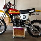1977 Moto-X-Fox Watercooled resto racer
