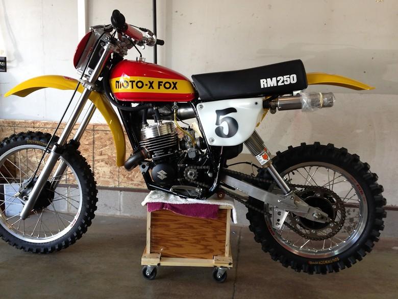 1977 Moto-X-Fox Watercooled resto racer