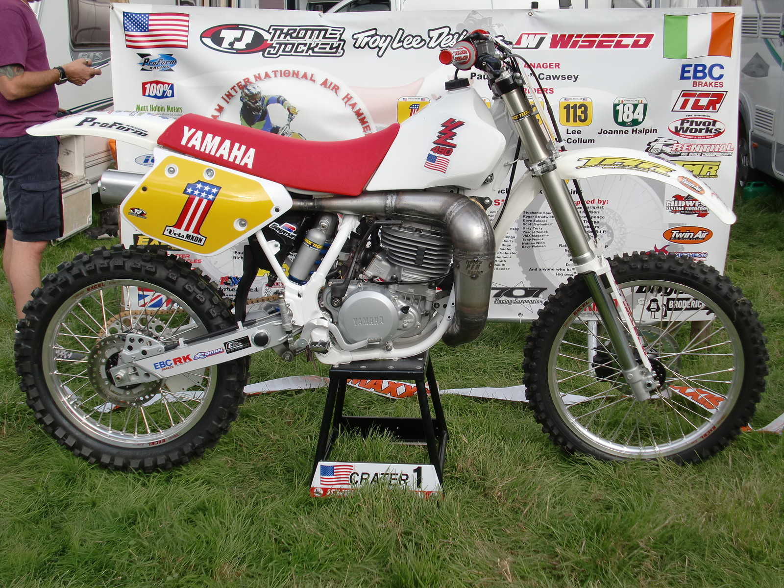 1989 Yamaha Yz250 490w Vmx3 S Bike Check Vital Mx
