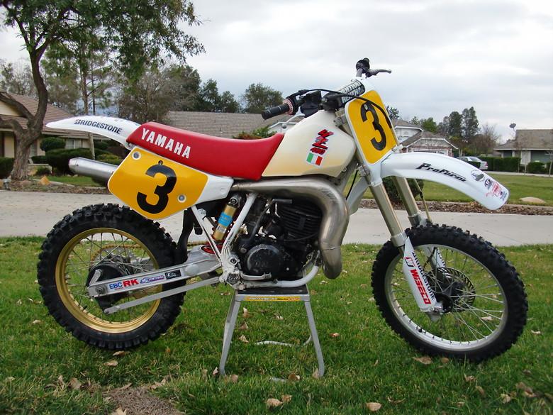 1987 Yamaha YZ490T