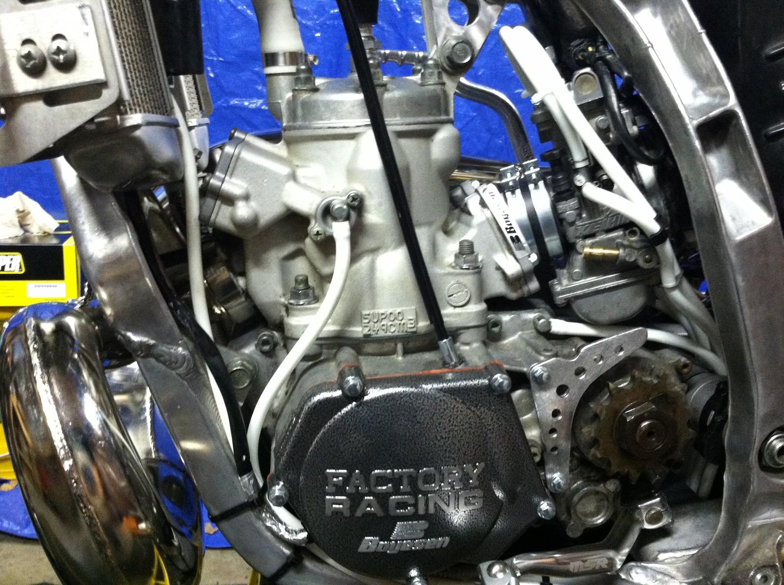 My Custom Built Yz 250 - Avilarr43 U0026 39 S Bike Check