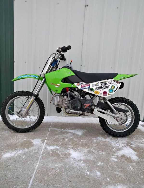 2006 KLX110 Overhaul