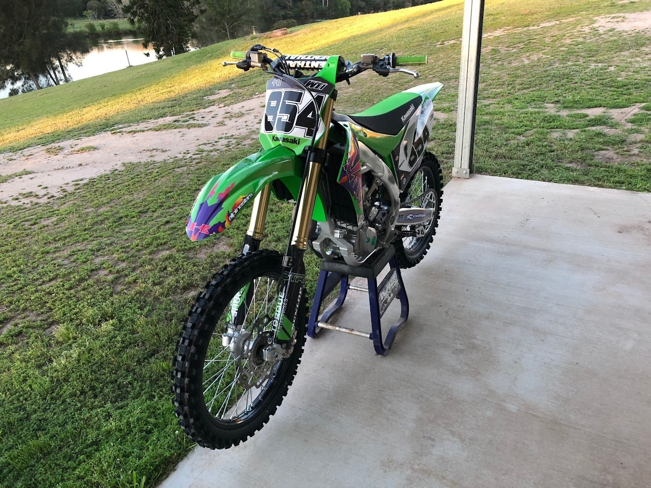 Brad's 19 KX450