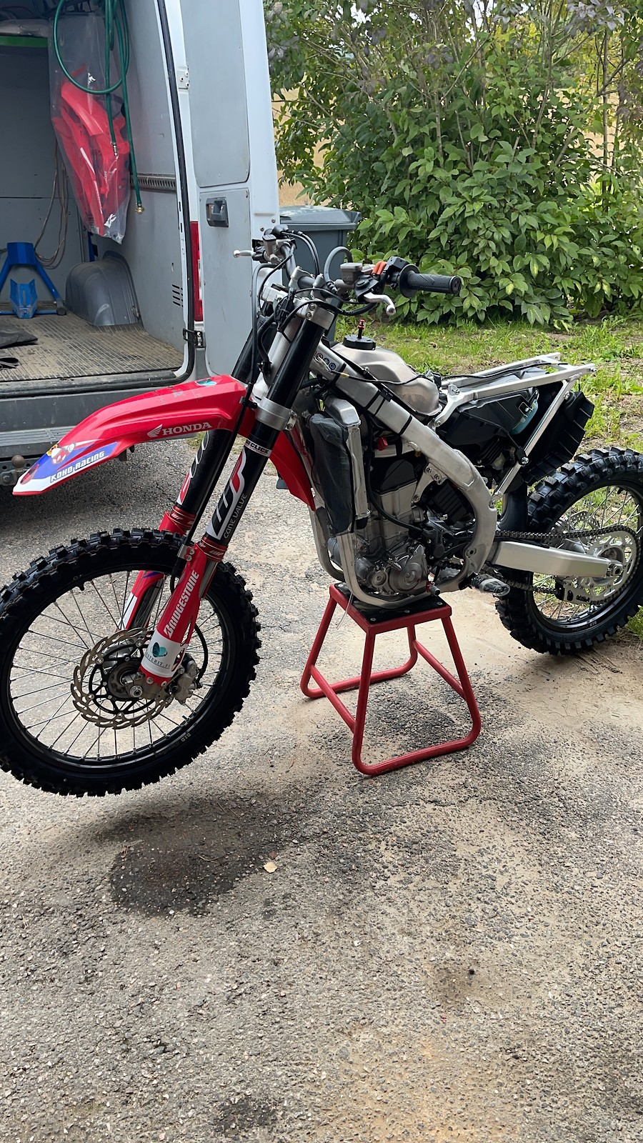 2022 Honda Crf 450R  50+Vet bike.