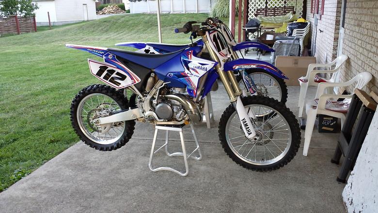 2006 Yamaha yz 250