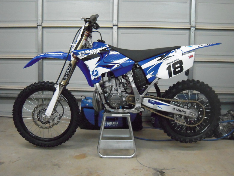 DDMX18's YZ250
