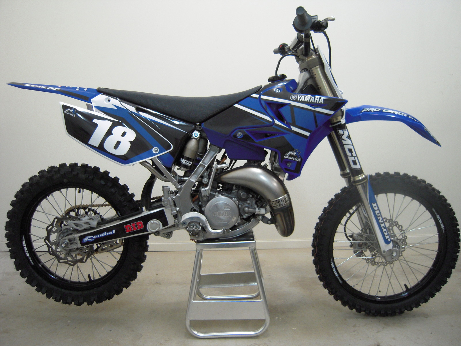 Purchased a second hand YZ 125 and just finished a ground up rebuild