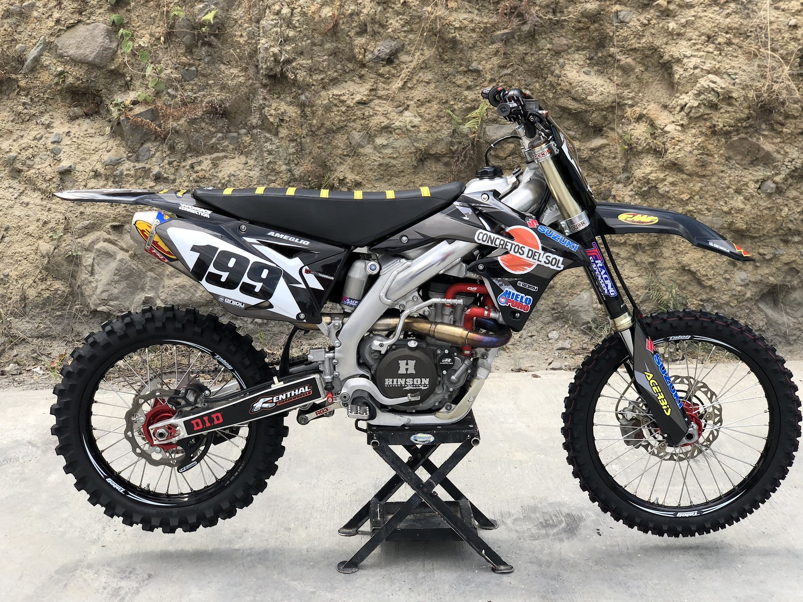 Blacked Out RMZ 450