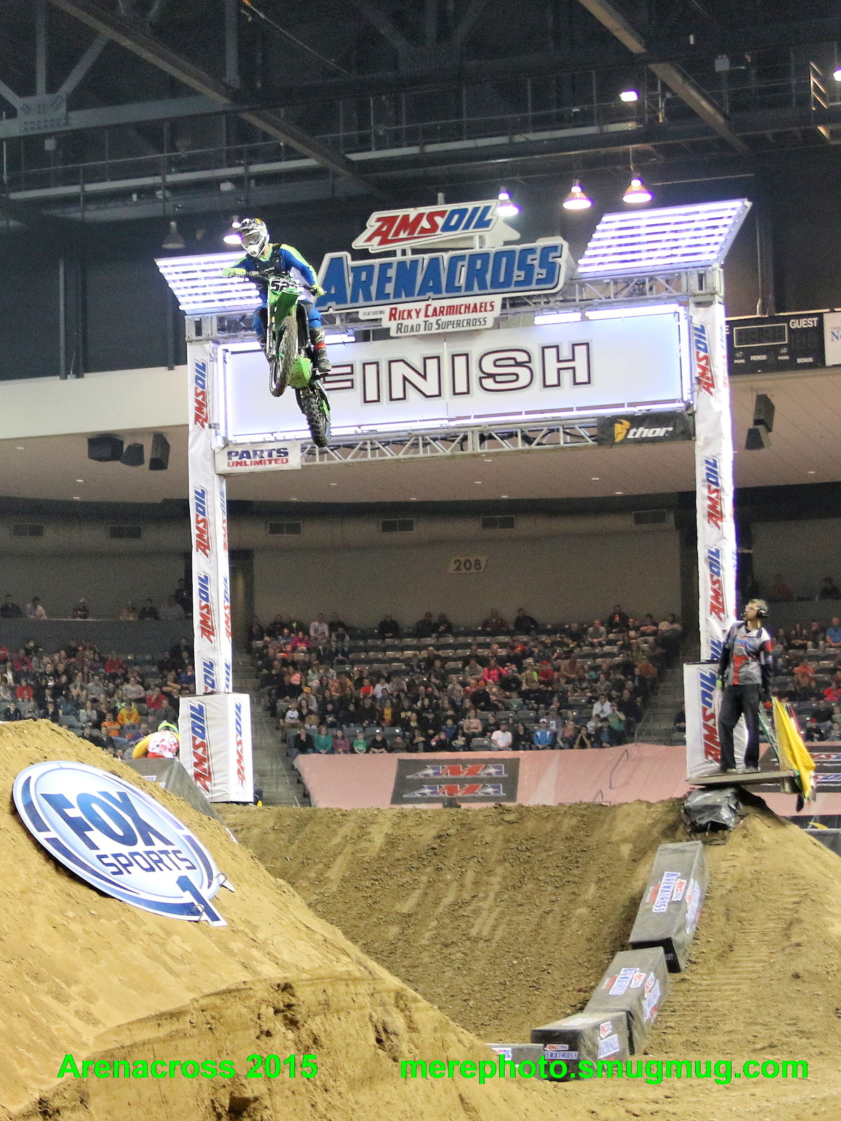 Arenacross 2015 Council Bluffs IA - mharmon - Motocross Pictures - Vital MX