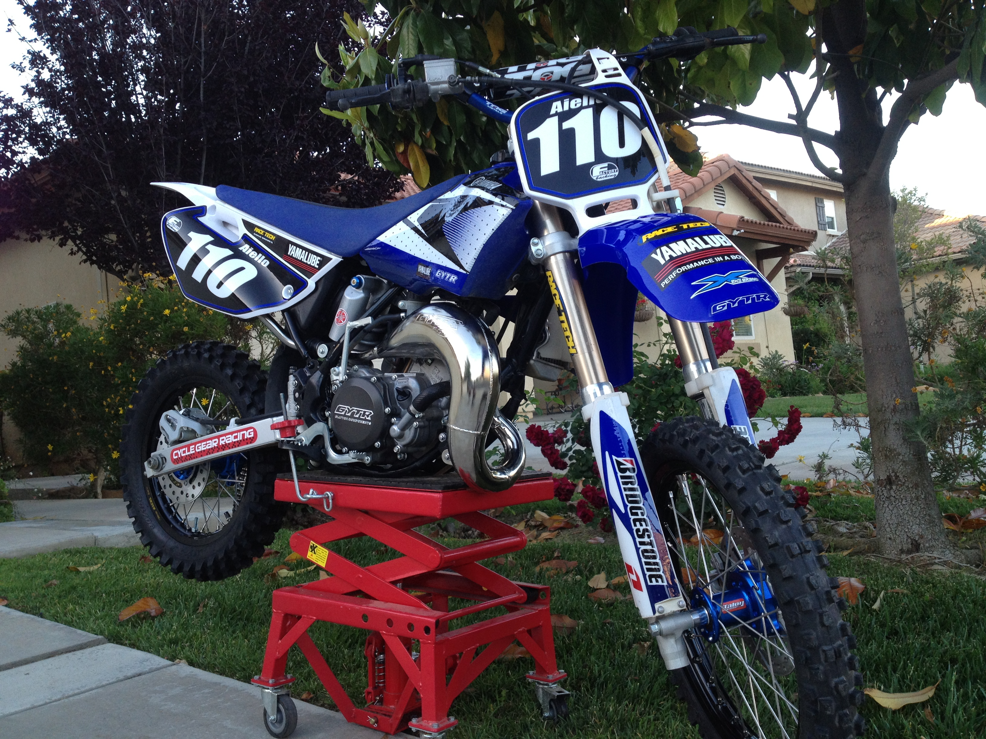 Yz85 Kai 110 S Bike Check Vital Mx