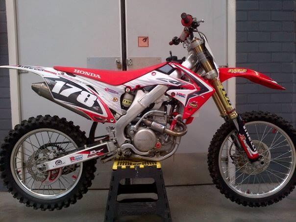 Honda CRF250R - 2013 450R Look - Mitchellxhofleer178's Bike Check ...
