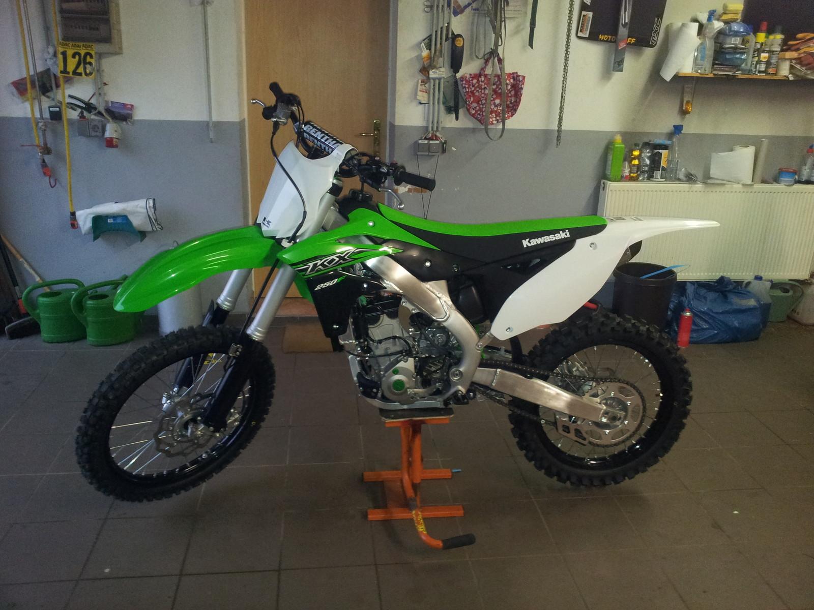 Kawasaki KX250F SplitFire 2015