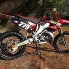 Traction Mx 2004 CR250 Build